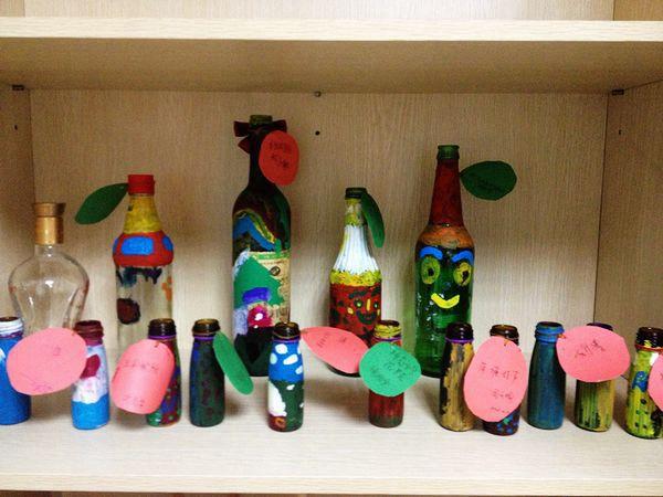 【莞香花】莞香花玻璃瓶彩绘亲子活动侧记图片